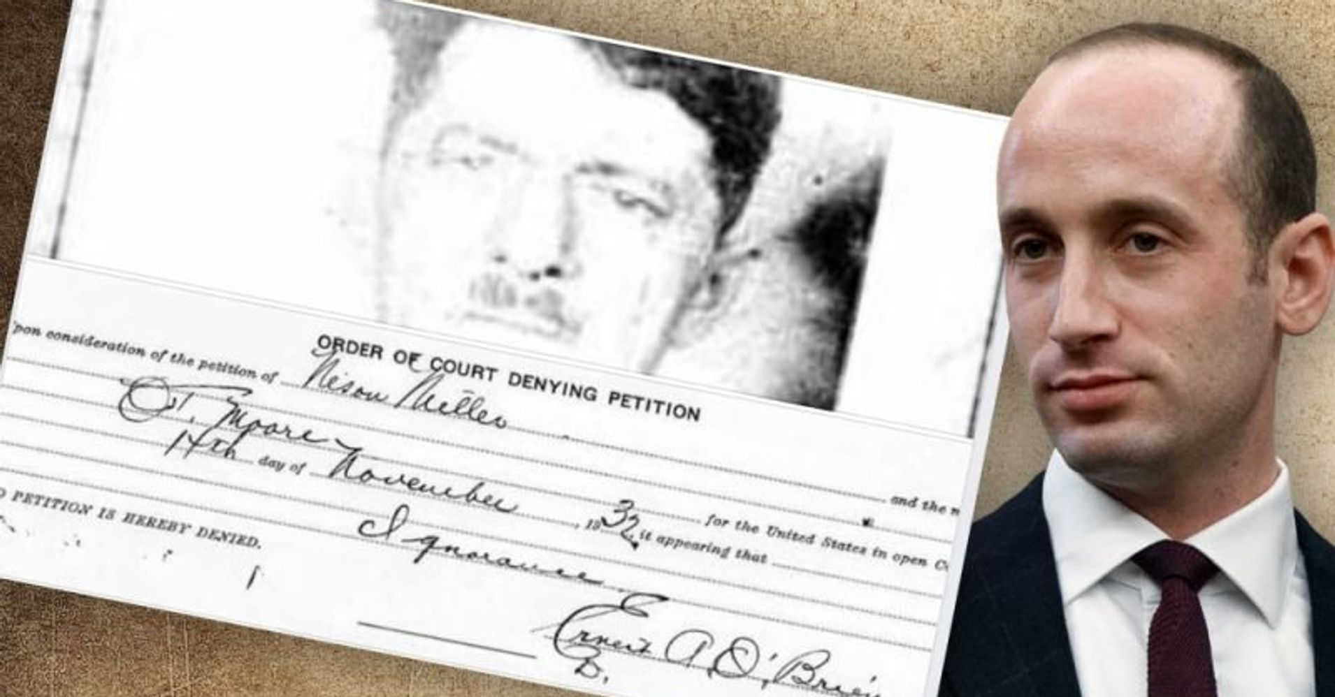 Trump Aide Stephen Miller, Meet Your Great-Grandfather, Who Flunked His Naturalization Test