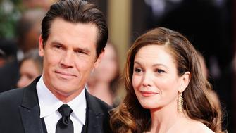 BEVERLY HILLS, CA - JANUARY 15:  Actors Josh Brolin and Diane Lane arrive at the 69th Annual Golden Globe Awards held at the Beverly Hilton Hotel on January 15, 2012 in Beverly Hills, California.  (Photo by Frazer Harrison/Getty Images)