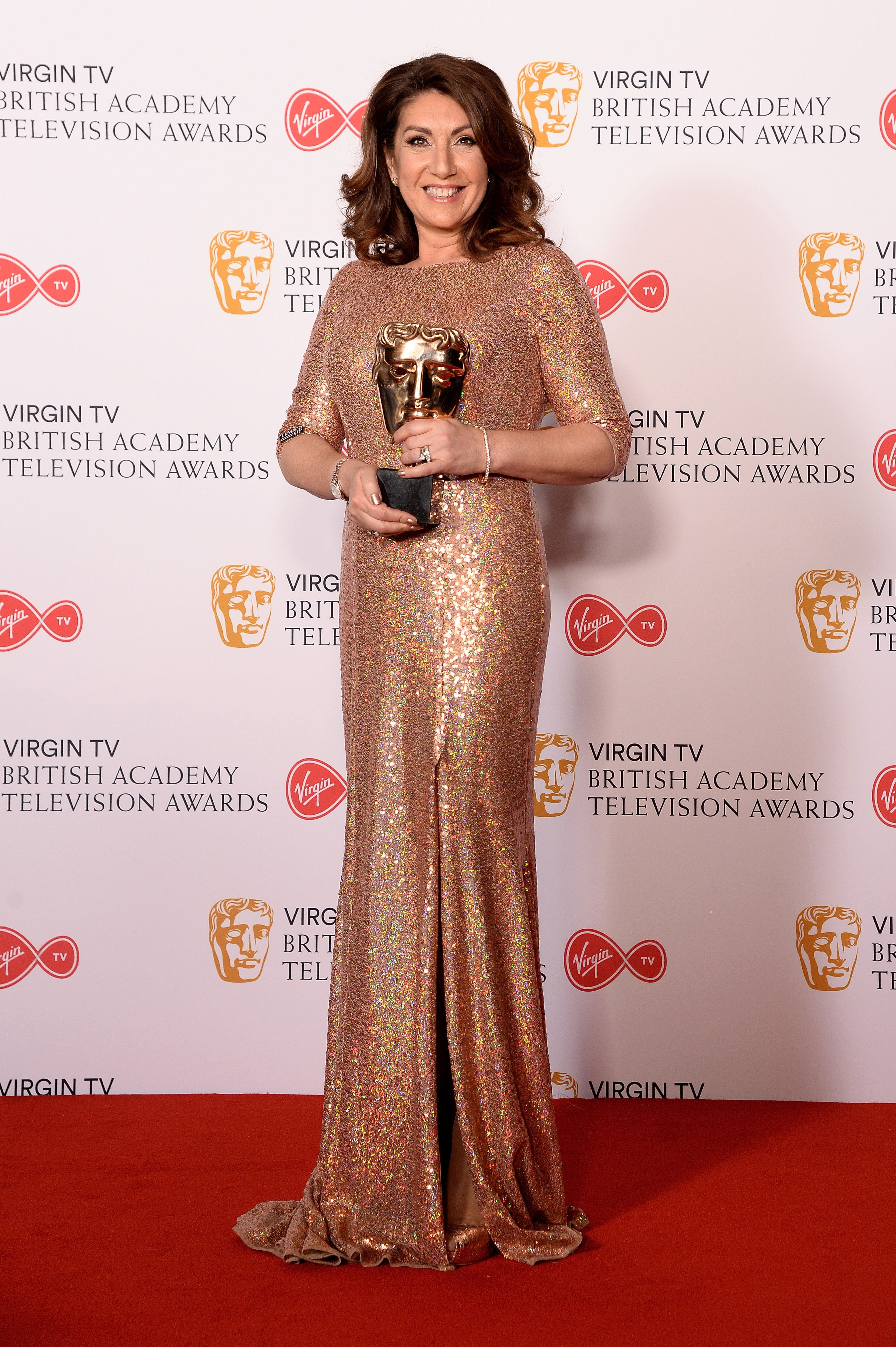 Jane McDonald Talks Us Through Her Exciting Night At The TV Baftas