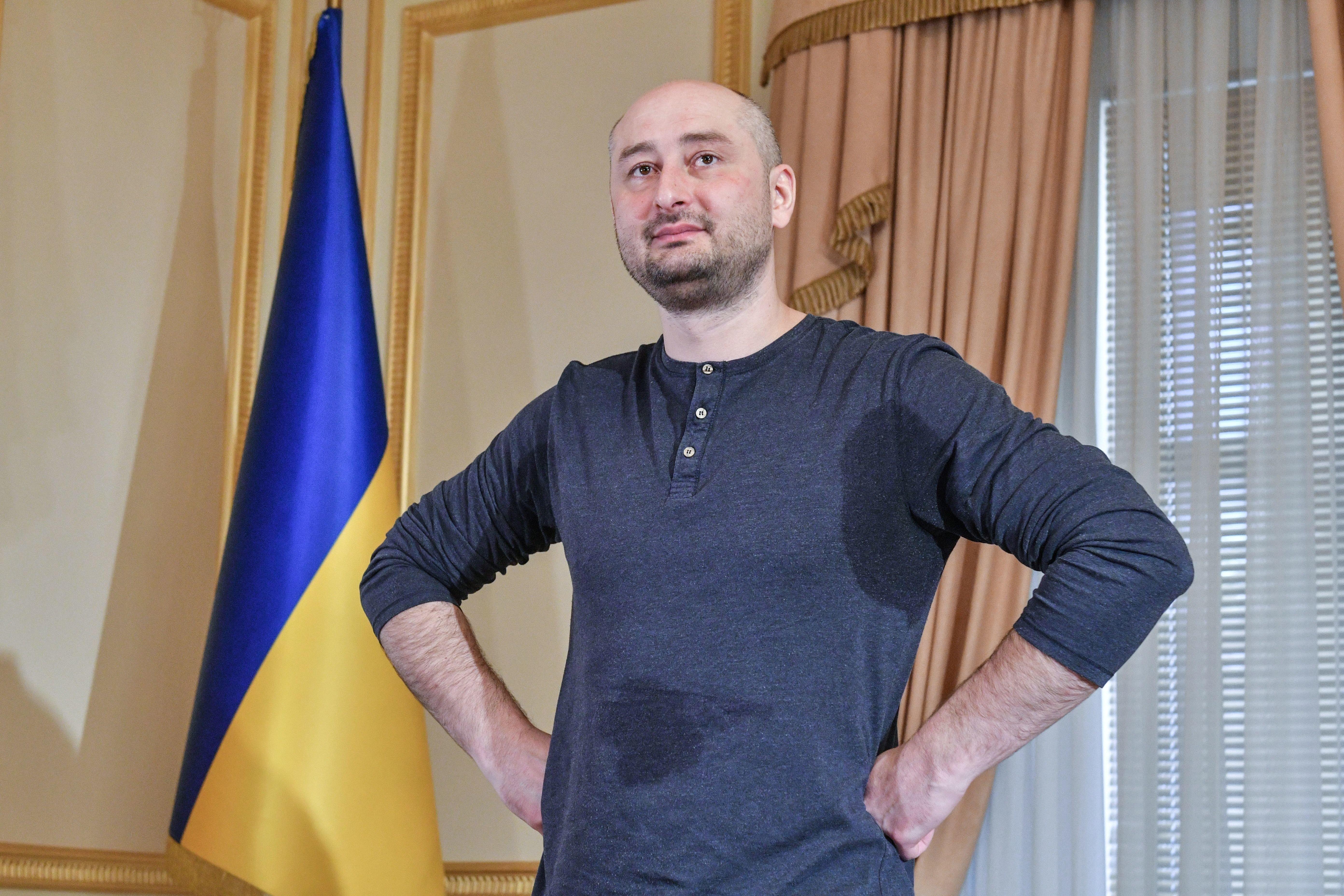 Ein Treffen mit Arkadij Babtschenko –dem Mann, der einen Tag tot