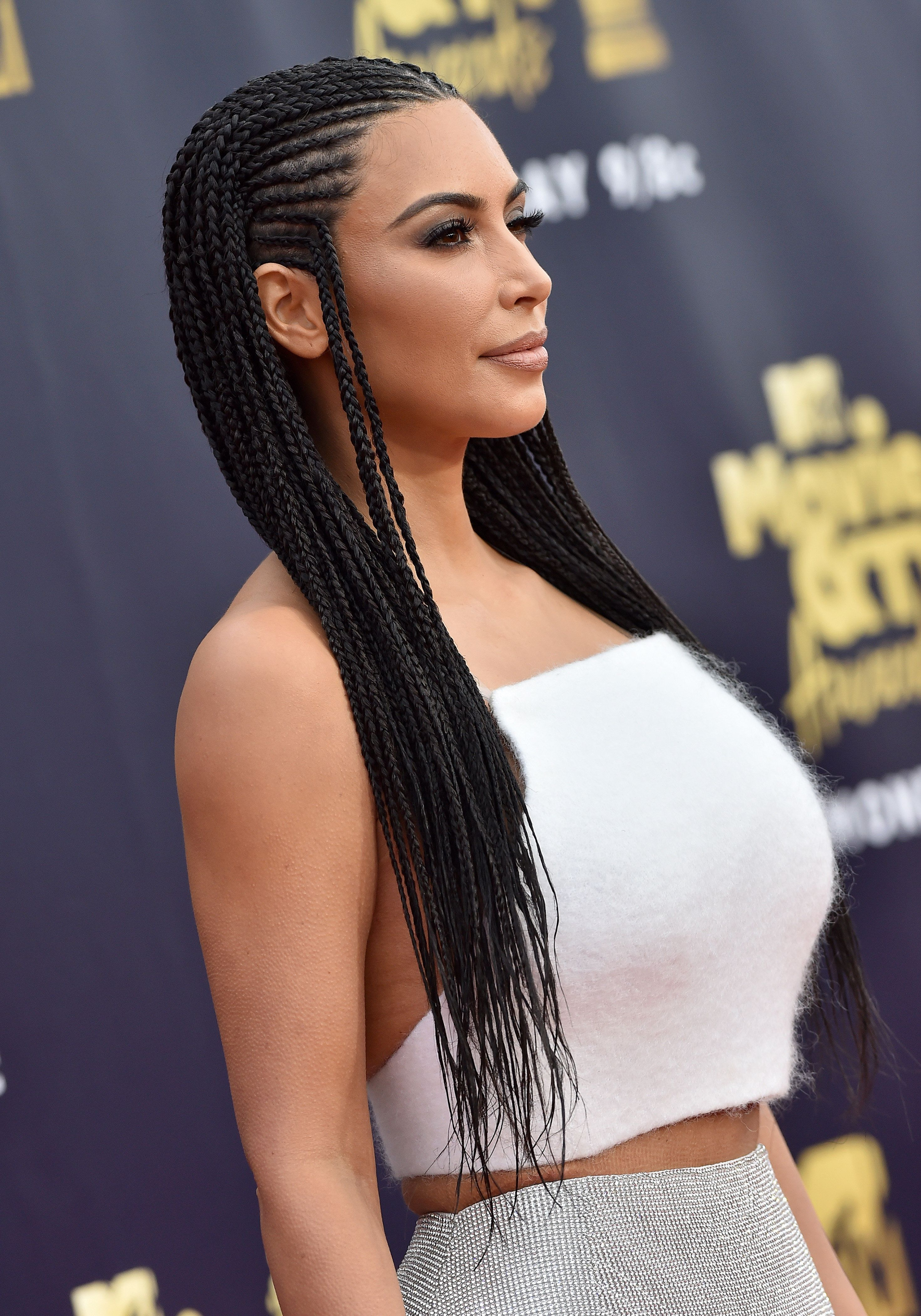 Kim Kardashian Tries To Defend Wearing Fulani Braids To The