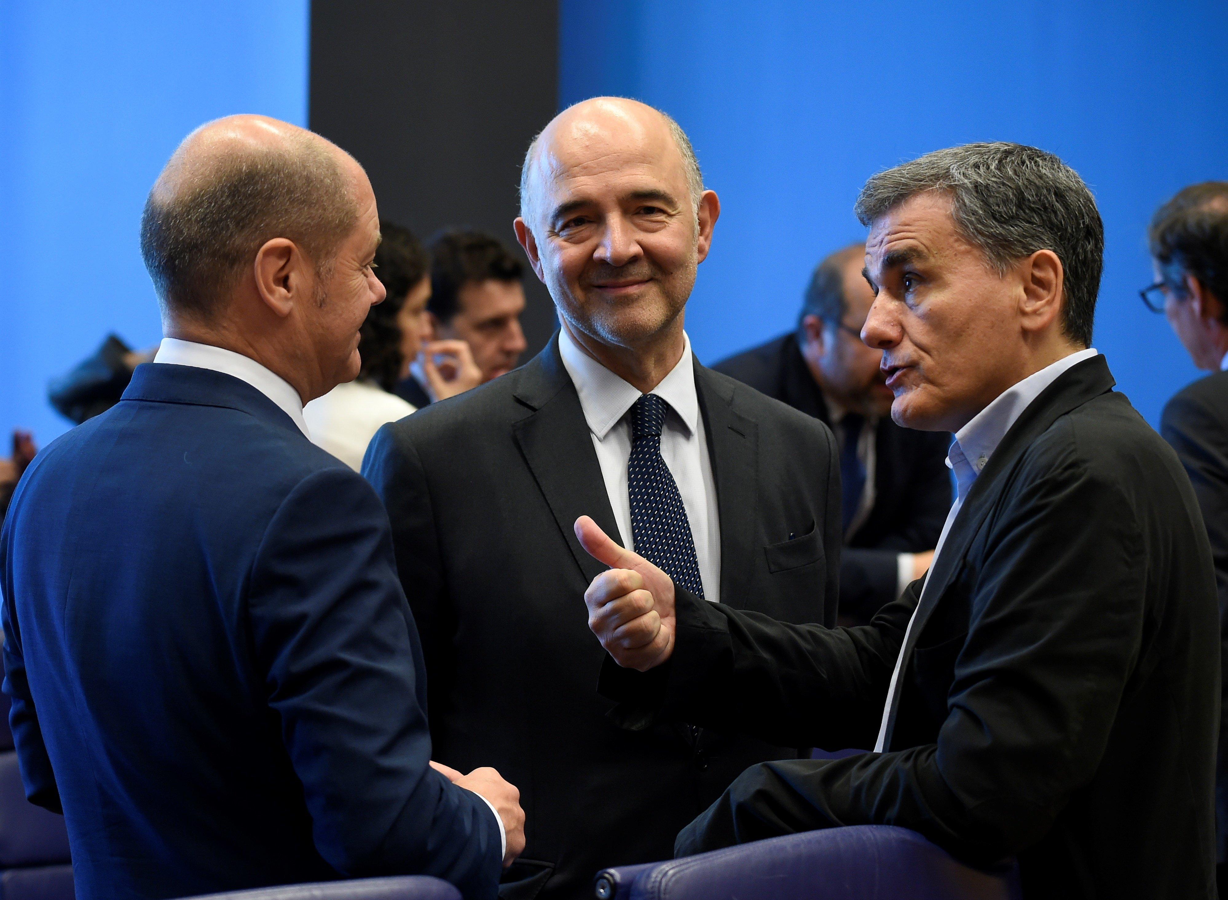 Τριμερής συνάντηση Ελλάδας, Γαλλίας, Γερμανία στο περιθώριο του Eurogroup