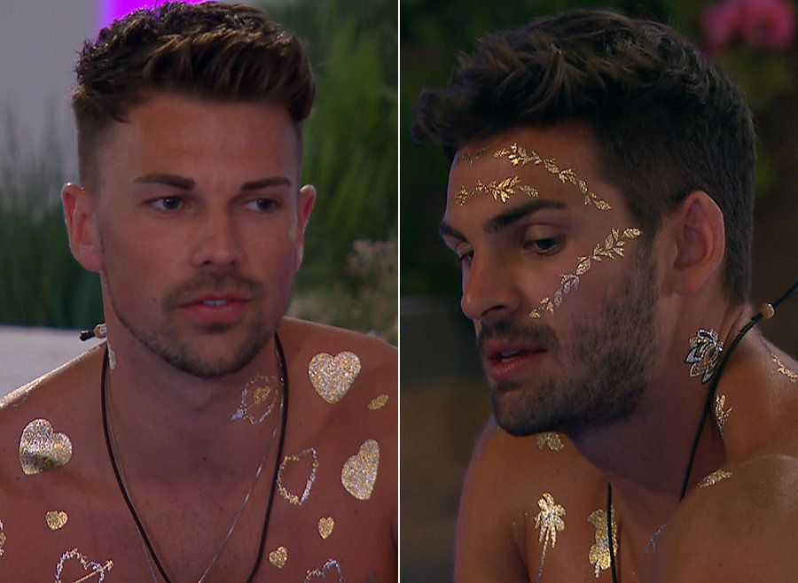'Love Island' Newbie Sam Wastes No Time In Taking Adam Down A Peg Over His Treatment Of