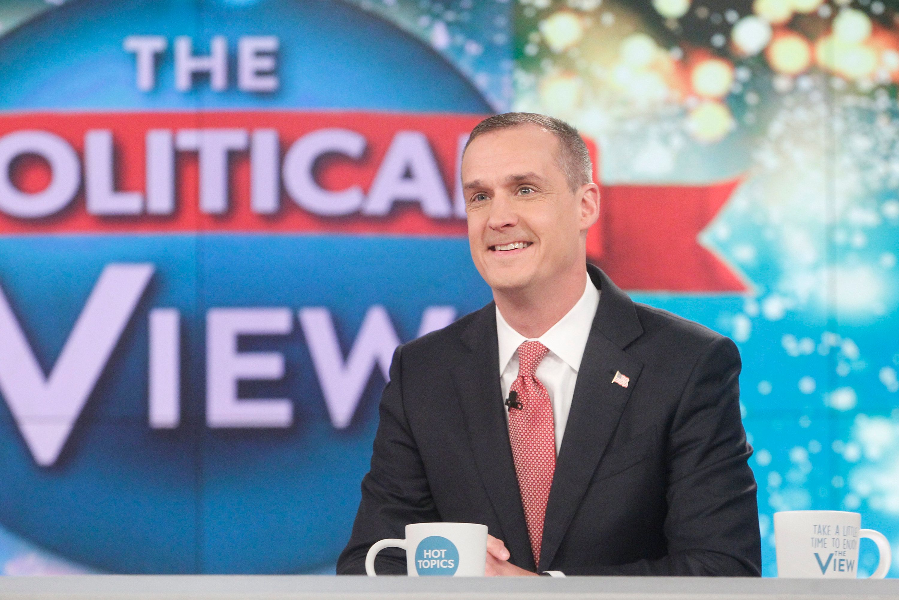 THE VIEW - Corey Lewandowski and Keegan-Michael Key  are the guests today, Wednesday, December 5, 2017 on ABC's 'The View.'   'The View' airs Monday-Friday (11:00 am-12:00 pm, ET) on the ABC Television Network.     (Photo by Lou Rocco/ABC via Getty Images)   COREY LEWANDOWSKI