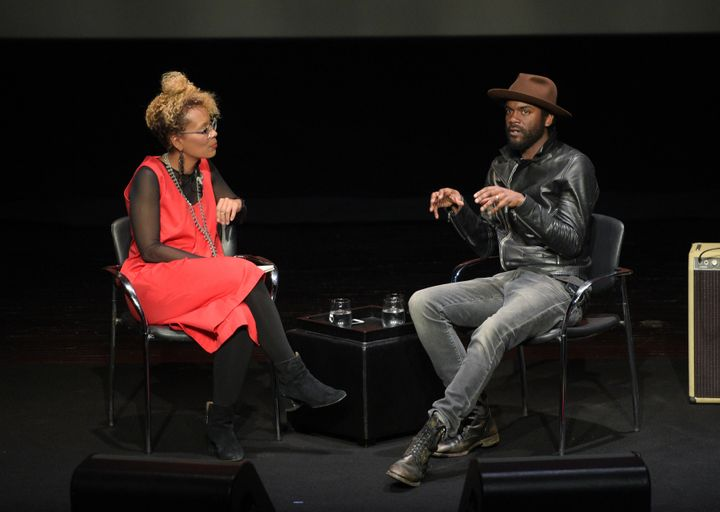 Wortham in conversation with musician Gary Clark Jr.