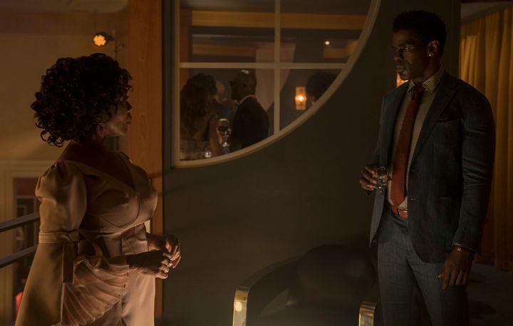 Mariah Dillard (Alfre Woodard) stands opposite a foe, Bushmaster (Mustafa Shakir).