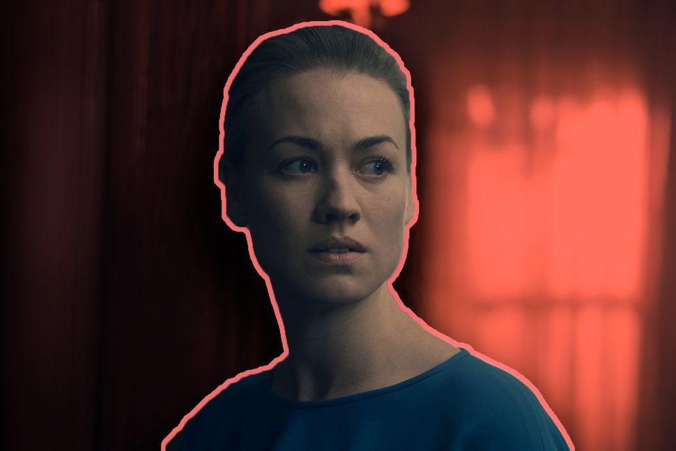 "Yvonne Strahovski playsSerena Joy Waterford on Hulu's ""The Handmaid's Tale."""