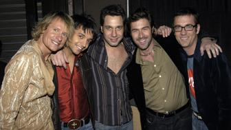 Carson Kressley, Jai Rodriguez, Thom Filicia, Kyan Douglas and Ted Allen from 'Queer Eye For Straight Guy' (Photo by KMazur/WireImage for Clear Channel Entertainment)