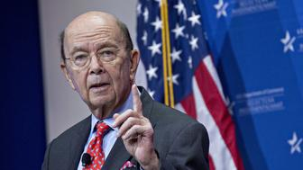 Wilbur Ross, U.S. commerce secretary, speaks during the SelectUSA Investment Summit in National Harbor, Maryland, U.S., on Thursday, June 21, 2018. The investment summit is dedicated to promoting foreign direct investment (FDI) in the United States and brings together companies from all over the world to facilitate business investment in America. Photographer: Andrew Harrer/Bloomberg via Getty Images