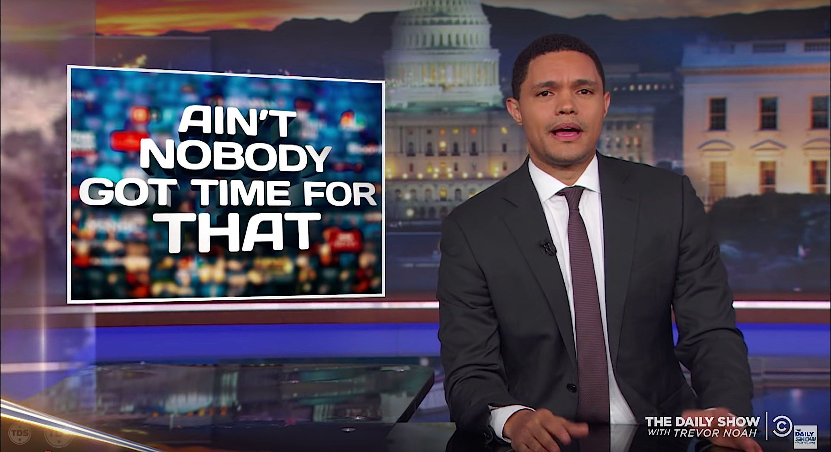 Trevor Noah of The Daily Show weighs in on Burger King and Melania Trumps jacket