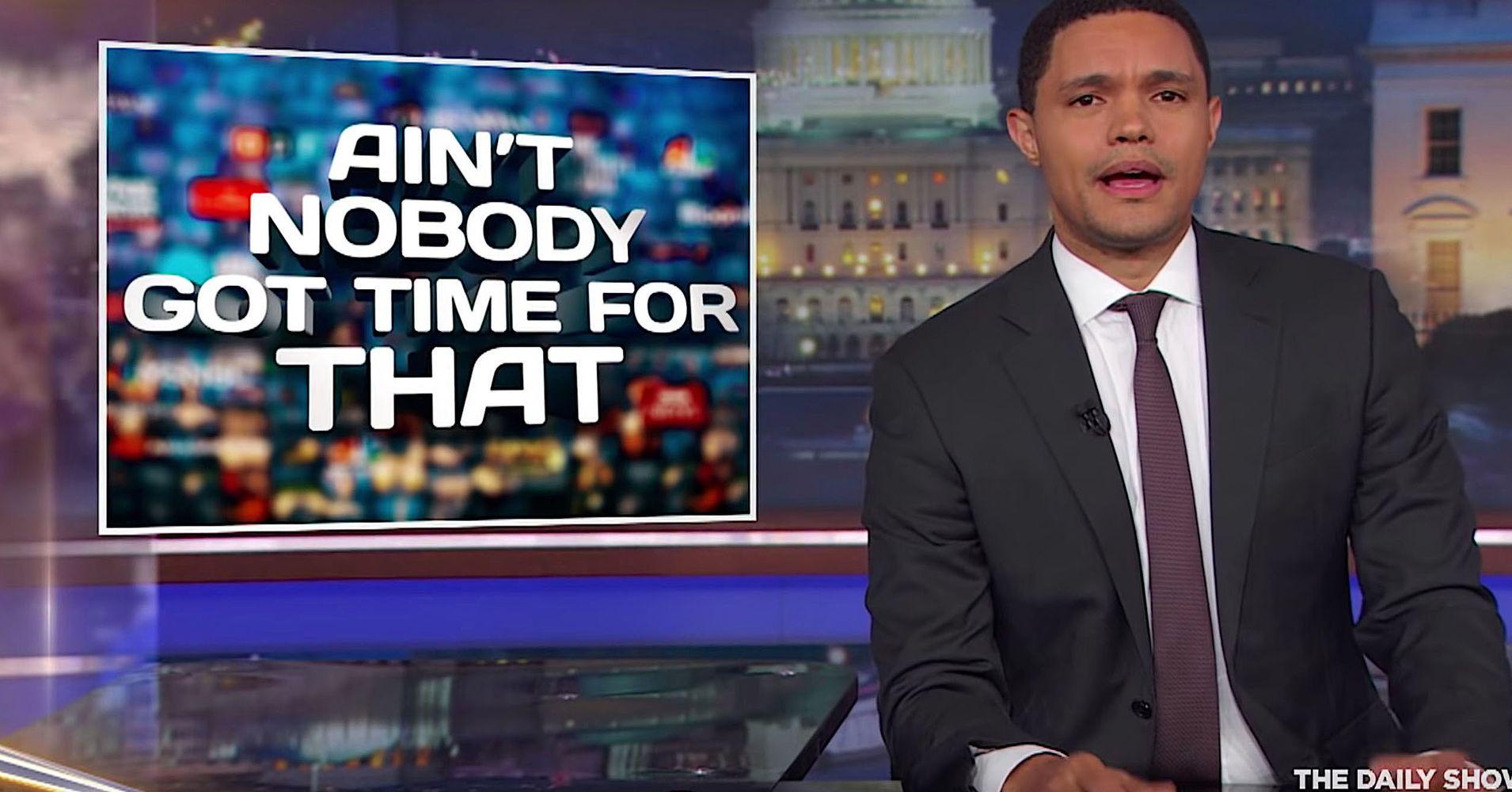 Trevor Noah Reveals The Meaning In Melania Trump's Jacket