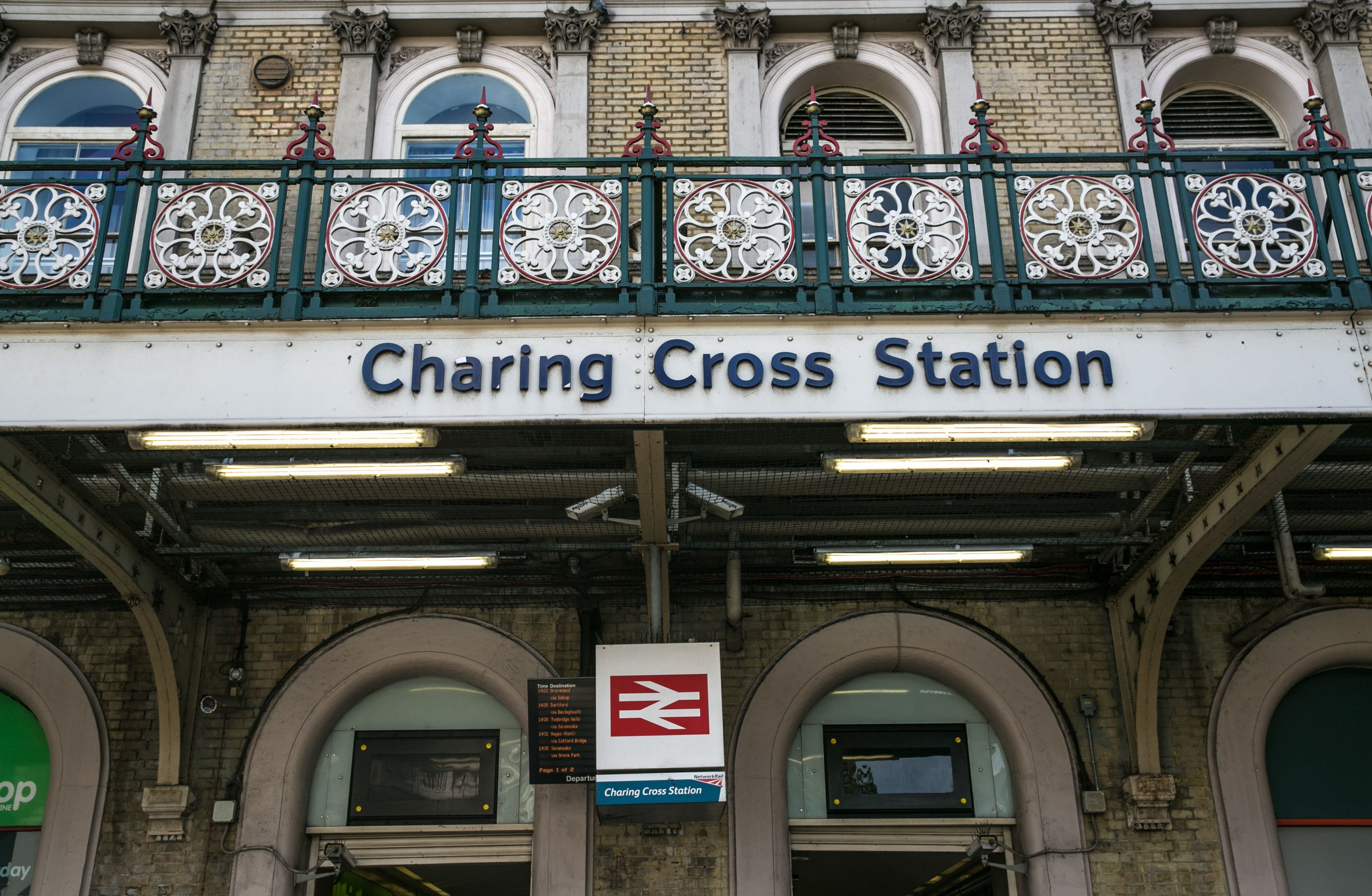 Charing Cross Station Evacuated After Man On Tracks Claimed To Have A