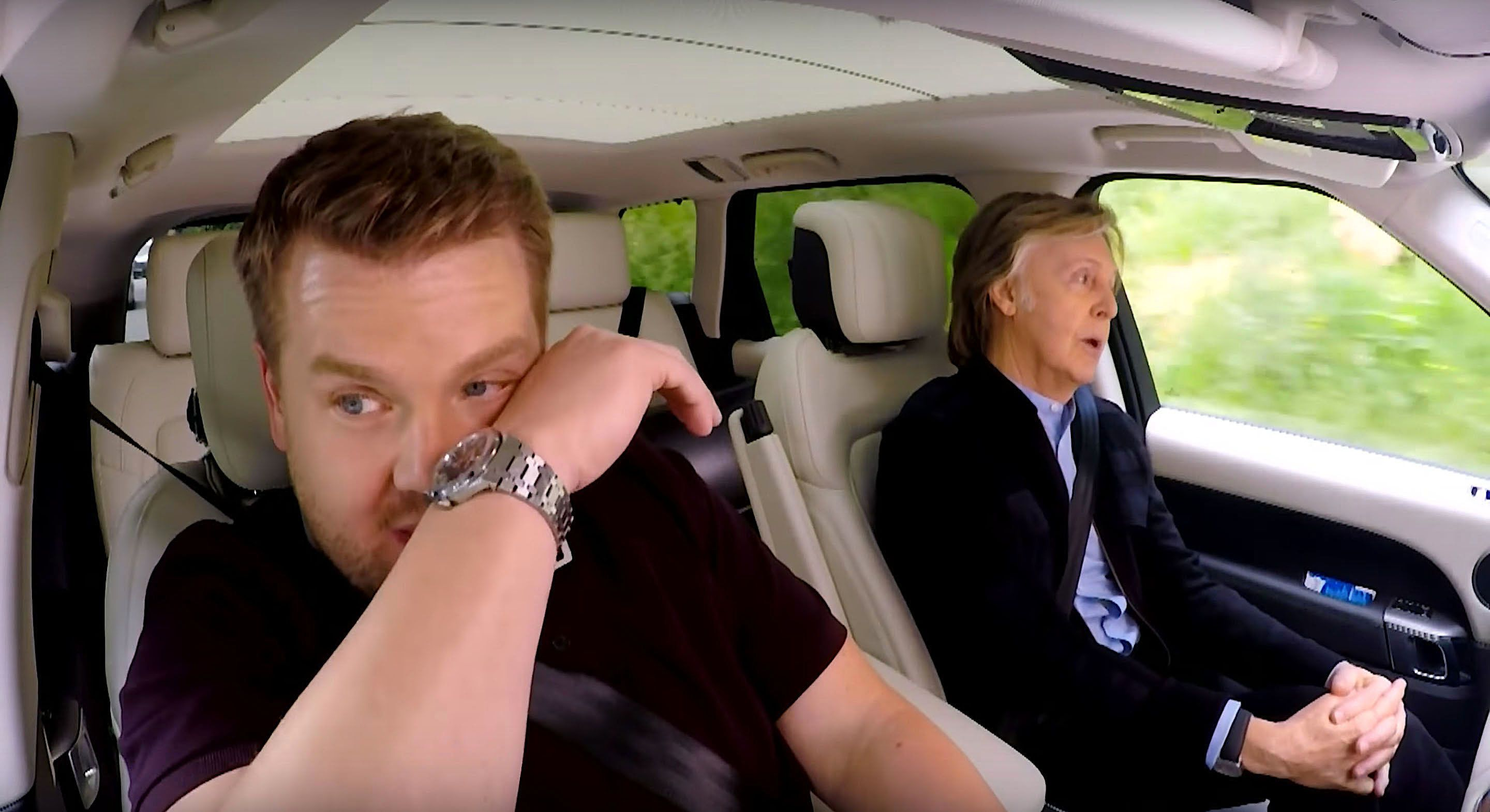 James Corden and Paul McCartney got emotional in Carpool Karaoke on The Late Late Show