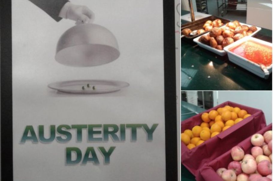 Leading Private School Slammed For 'Austerity Day' Lunch Where Students Eat Normal State School