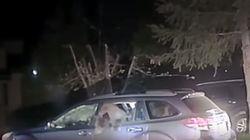 Αρκούδα εισβάλλει και διαλύει σταθμευμένο αυτοκίνητο στην