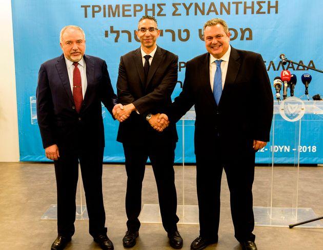 Ελλάδα, Κύπρος και Ισραήλ συμφωνούν για στενότερη στρατιωτική