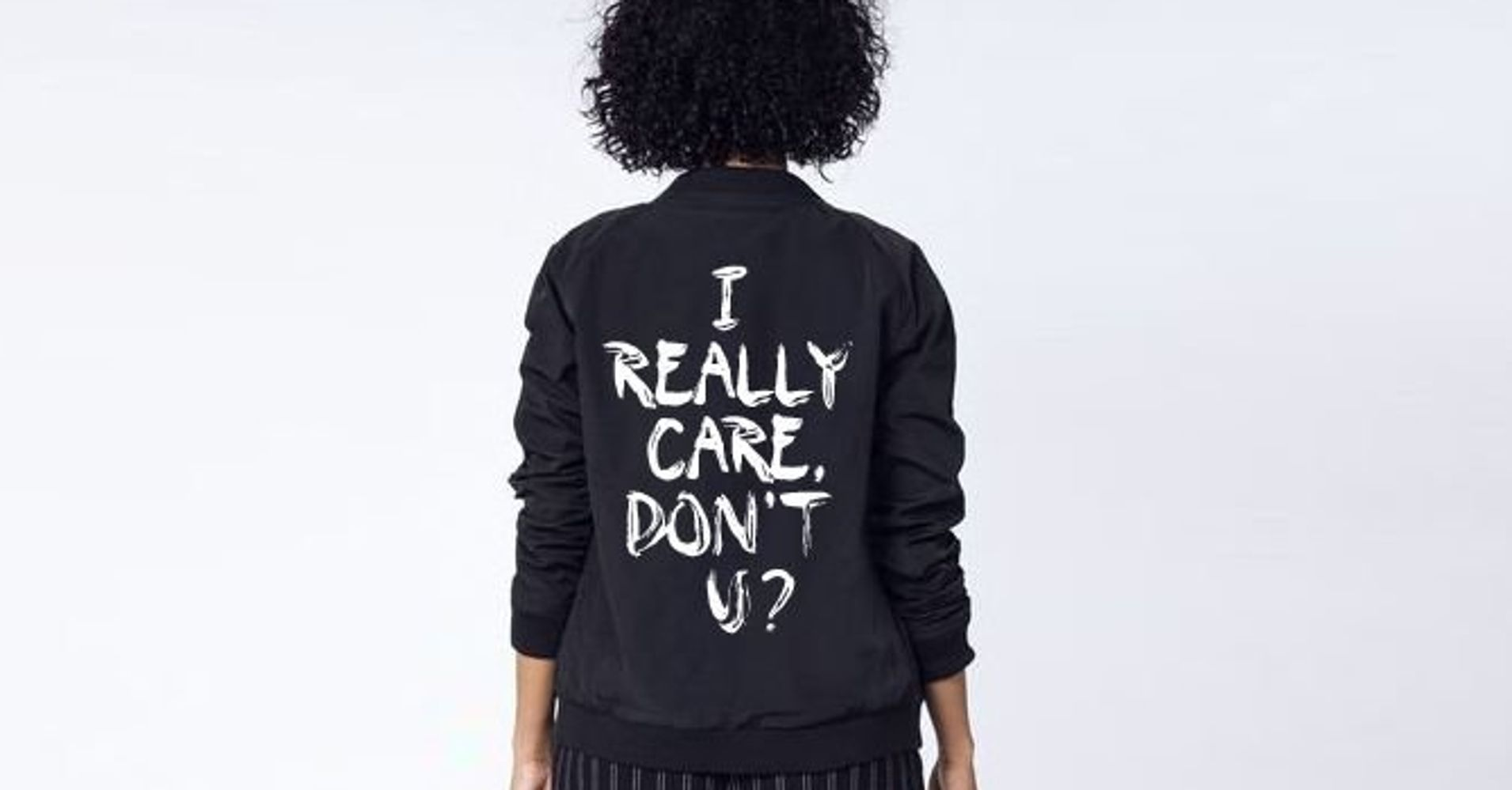 0b5bc354b Melania Trump's Jacket Prompts 'I Really Care' Clothing To Hit The Market |  HuffPost Life