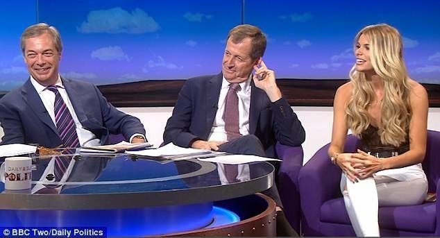 Nigel Farage: I might get invited on to Love Island