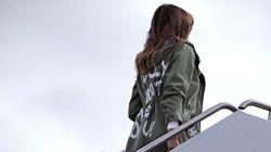 En visite dans les camps de détention d'enfants migrants, Melania Trump porte une veste annonçant