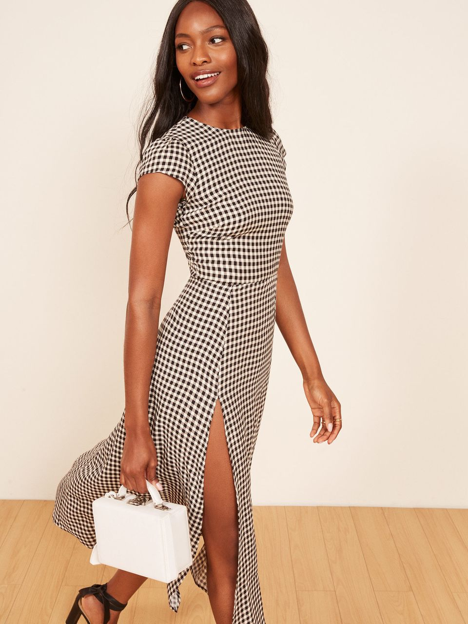 gingham is the oldfashioned trend everyones wearing for