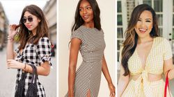 Gingham Is The Old-Fashioned Trend Everyone's Wearing For