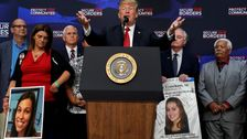 Trump Props Up Grieving Parents To Defend Immigration Policy