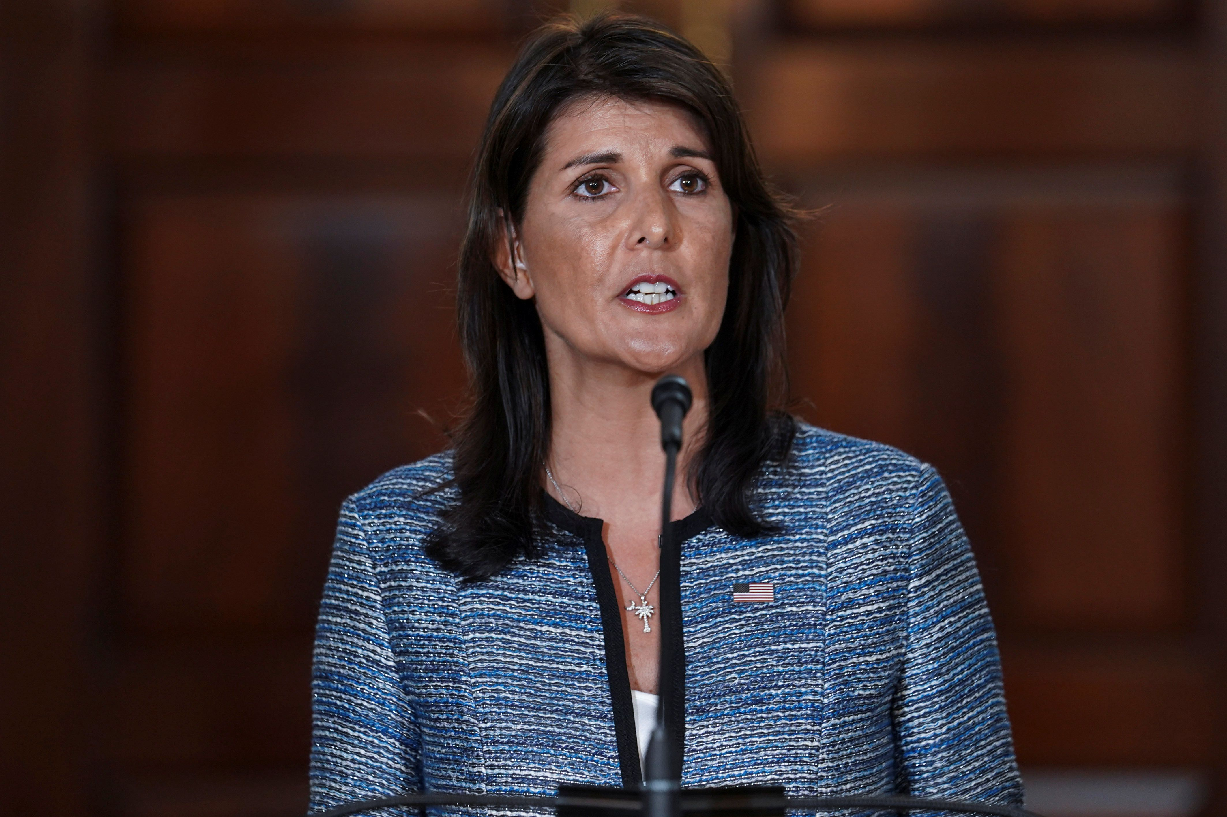 Nikki Haley: It's 'Patently Ridiculous' For UN To Look Into U.S. Poverty