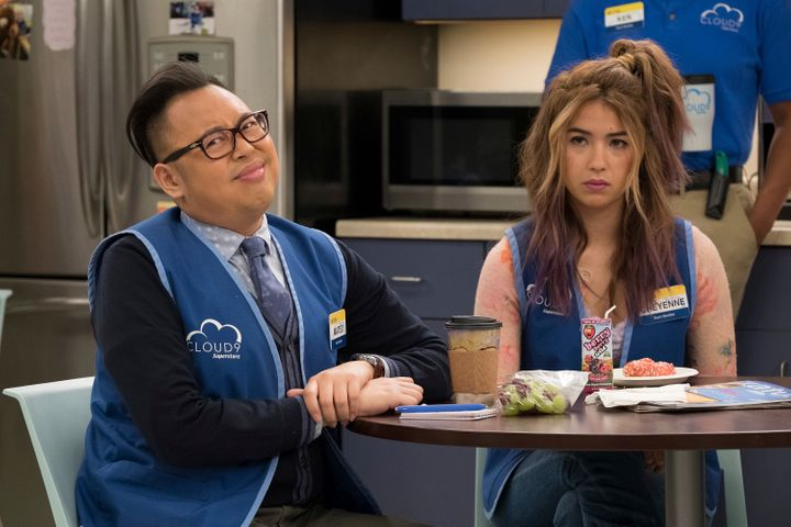 "As Mateo in NBC's ""Superstore,"" Santos says he loves being ""allowed to be a little bit of a villain."""