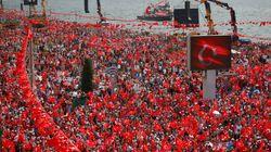Εκατοντάδες χιλιάδες στην προεκλογική συγκέντρωση του Ιντζέ στην