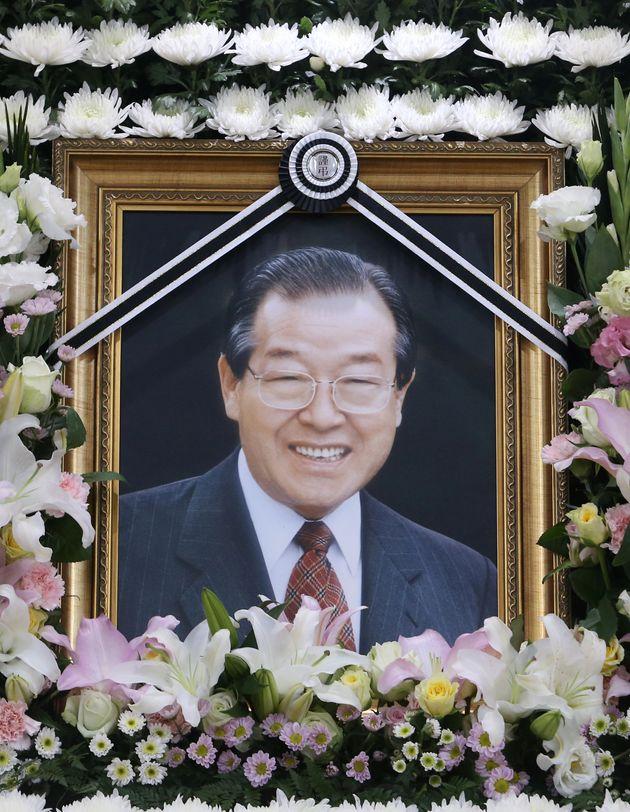 23일 오전 별세한 김종필 전