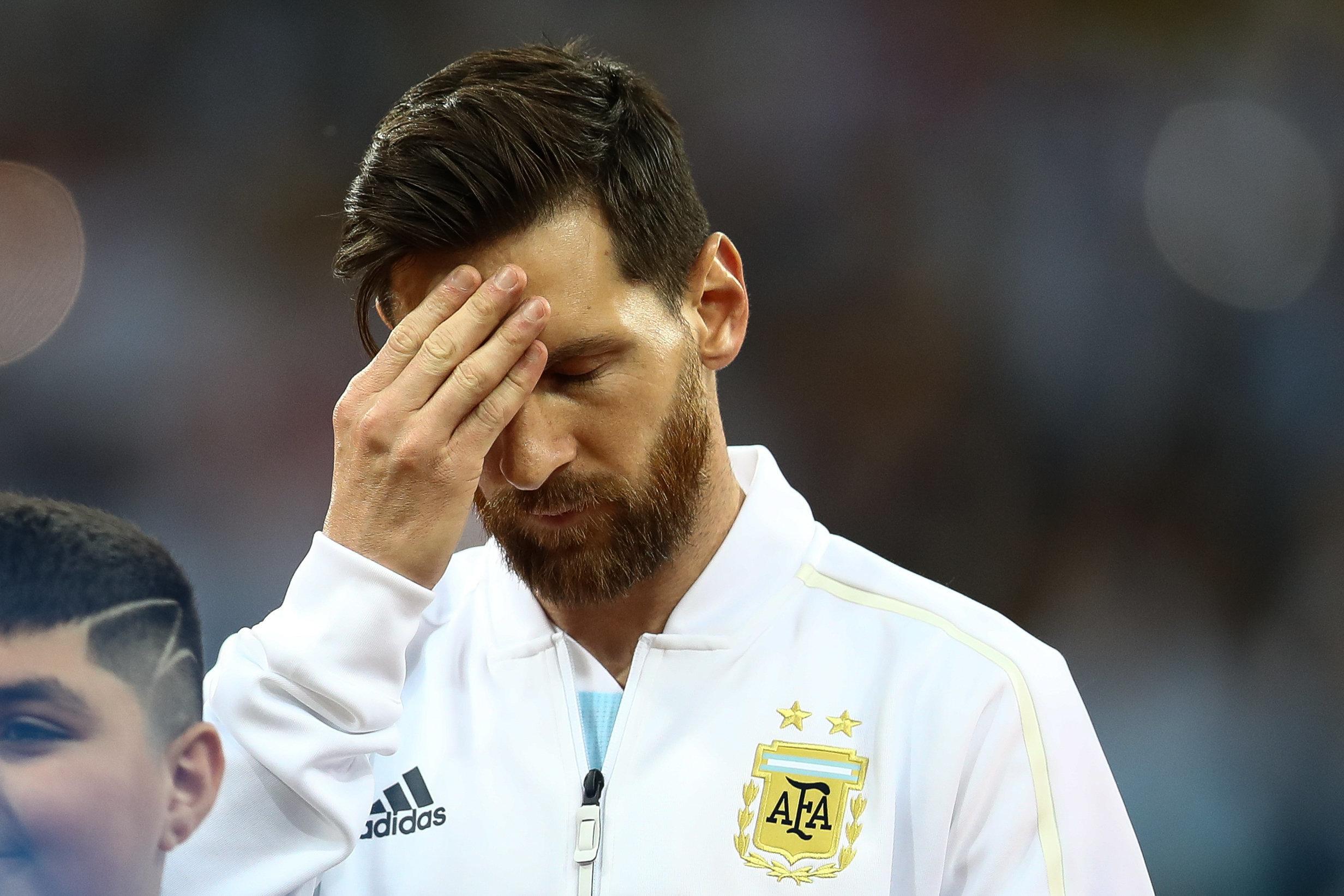 아르헨티나의 패배에 충격받은 메시 팬이 유서를 남기고