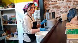 «Νan» σημαίνει ψωμί. Στο εστιατόριο-παράδειγμα της Μυτιλήνης προτεραιότητα έχει η