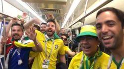 """Avec """"Messi Ciao"""", les Brésiliens chambrent l'Argentine en chanson"""
