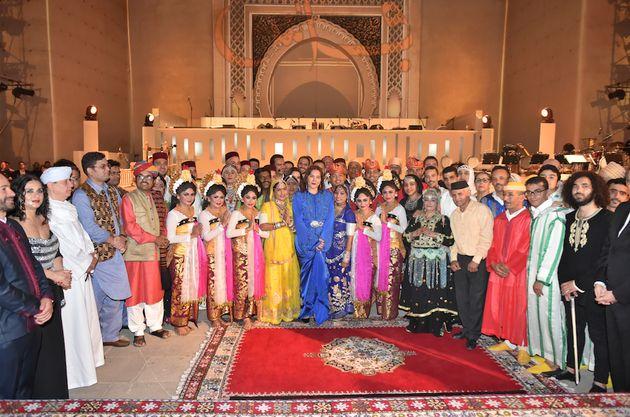 La princesse Lalla Hasnaa inaugure le festival de Fès des musiques