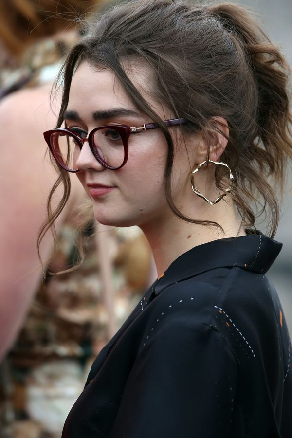 Maisie Williams also attended the wedding.