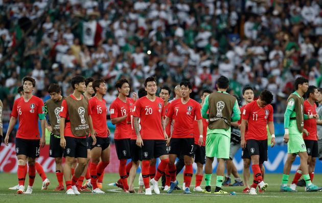멕시코전 패배 직후, 박지성은