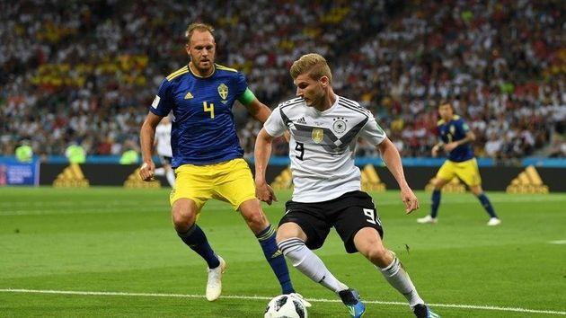 1, 2차전에서 1골도 넣지 못한 독일 최전방공격수 티모