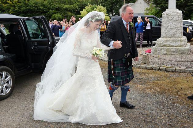 Game of Thrones: Ο γάμος. Ο Kit Harington και η Rose Leslie παντρεύτηκαν και όλο το καστ ήταν