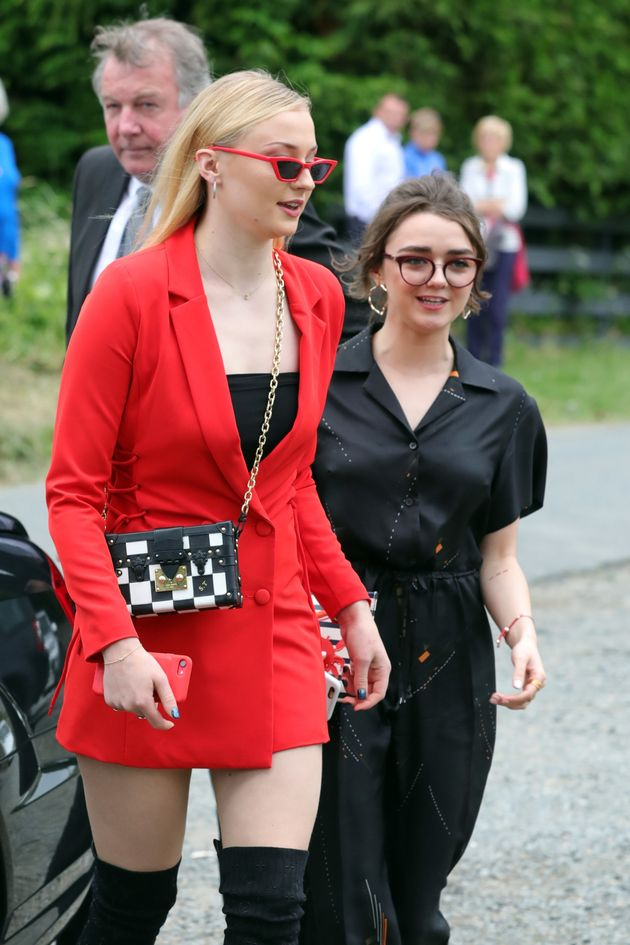Sophie Turner and Maisie Williams were among those in