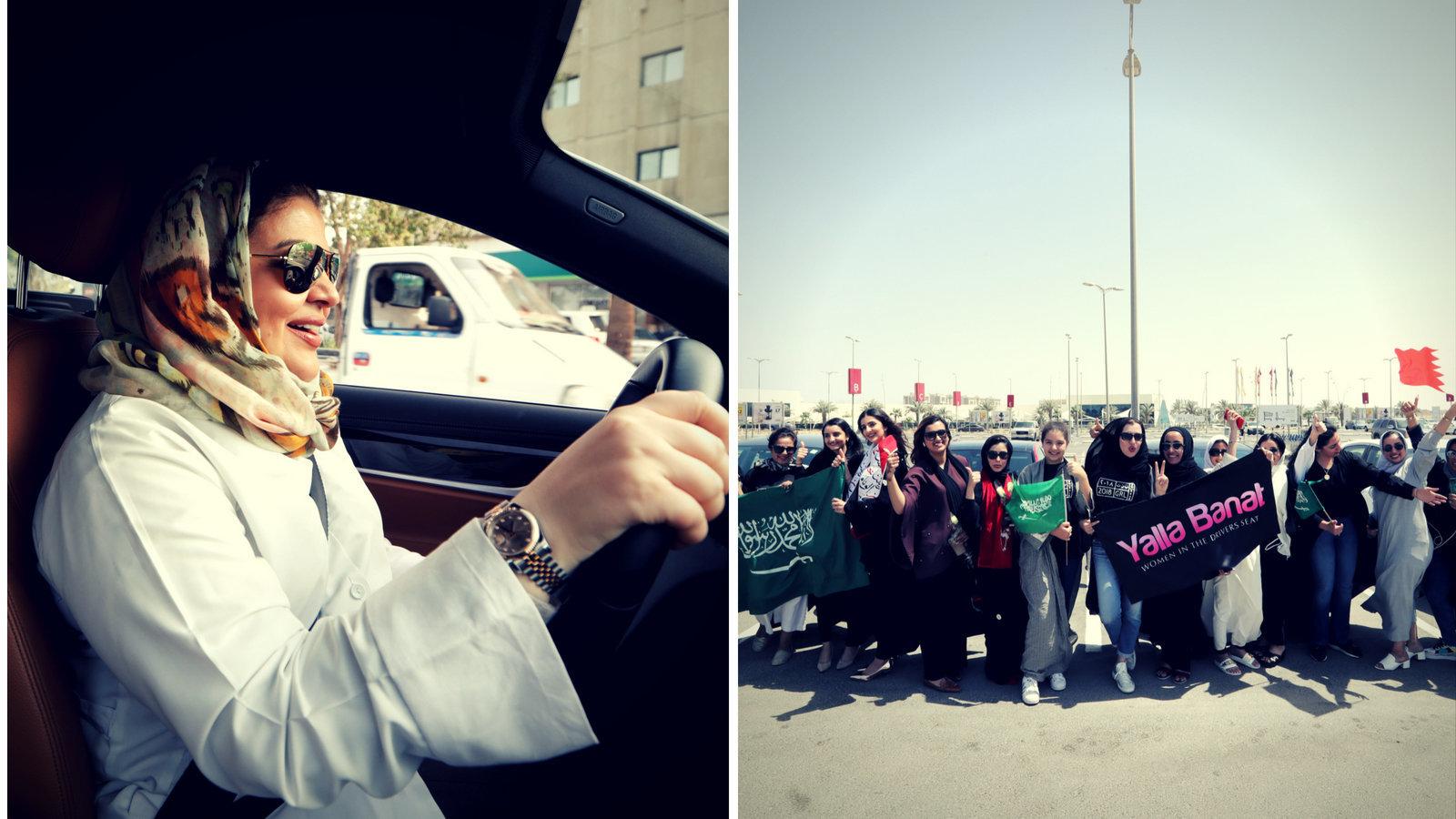 Frauen in Saudi-Arabien dürfen jetzt Auto fahren – wir haben mit zweien von ihnen
