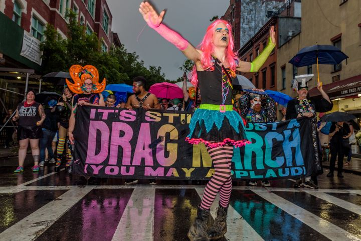 The Drag March in 2017.