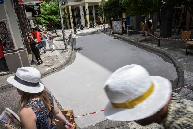 Η Αθήνα γίνεται Λος Άντζελες. Ο πρώτος «λευκός» δρόμος είναι γεγονός