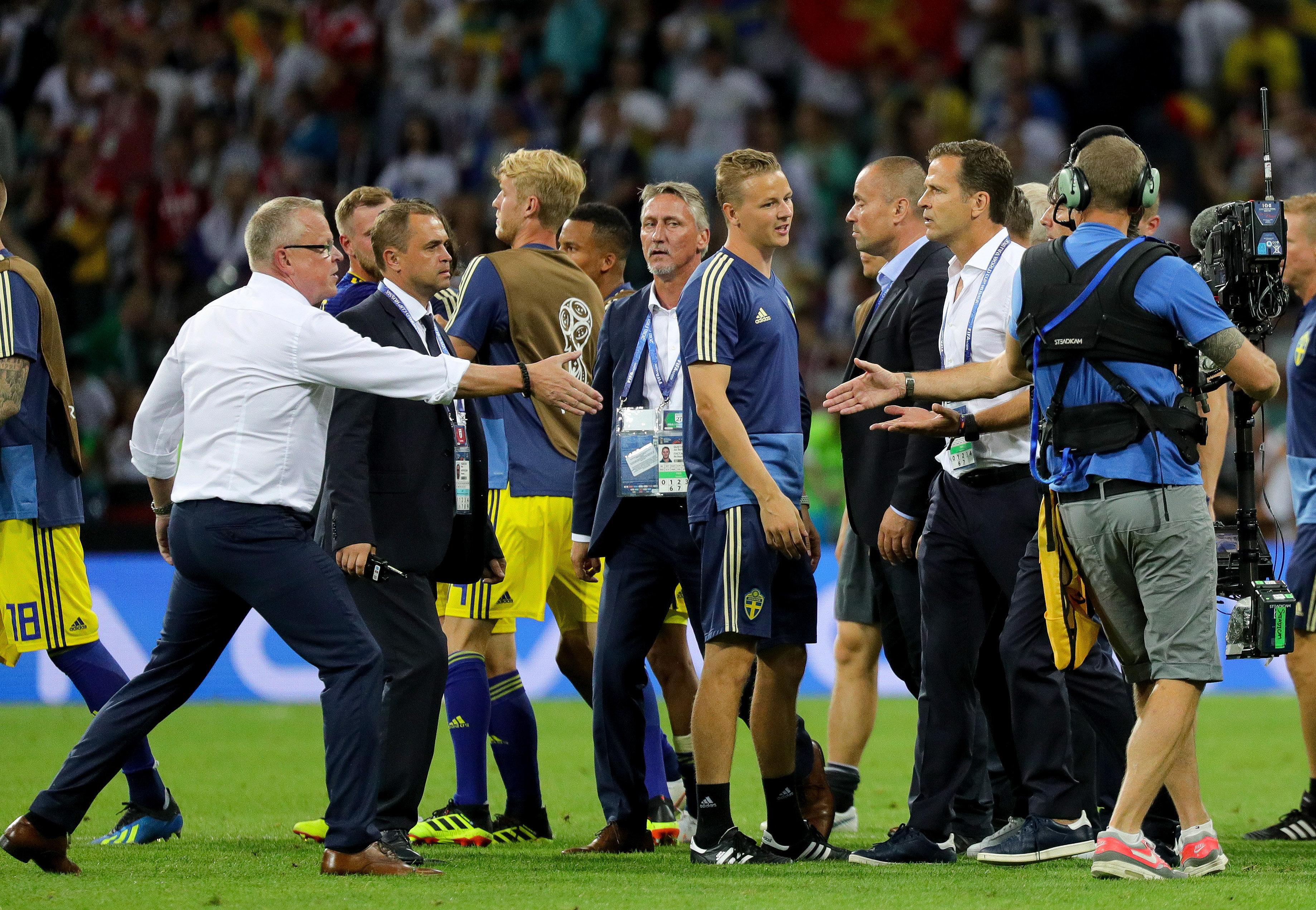 Hitzige Szenen nach Schweden-Spiel: Fifa ermittelt gegen