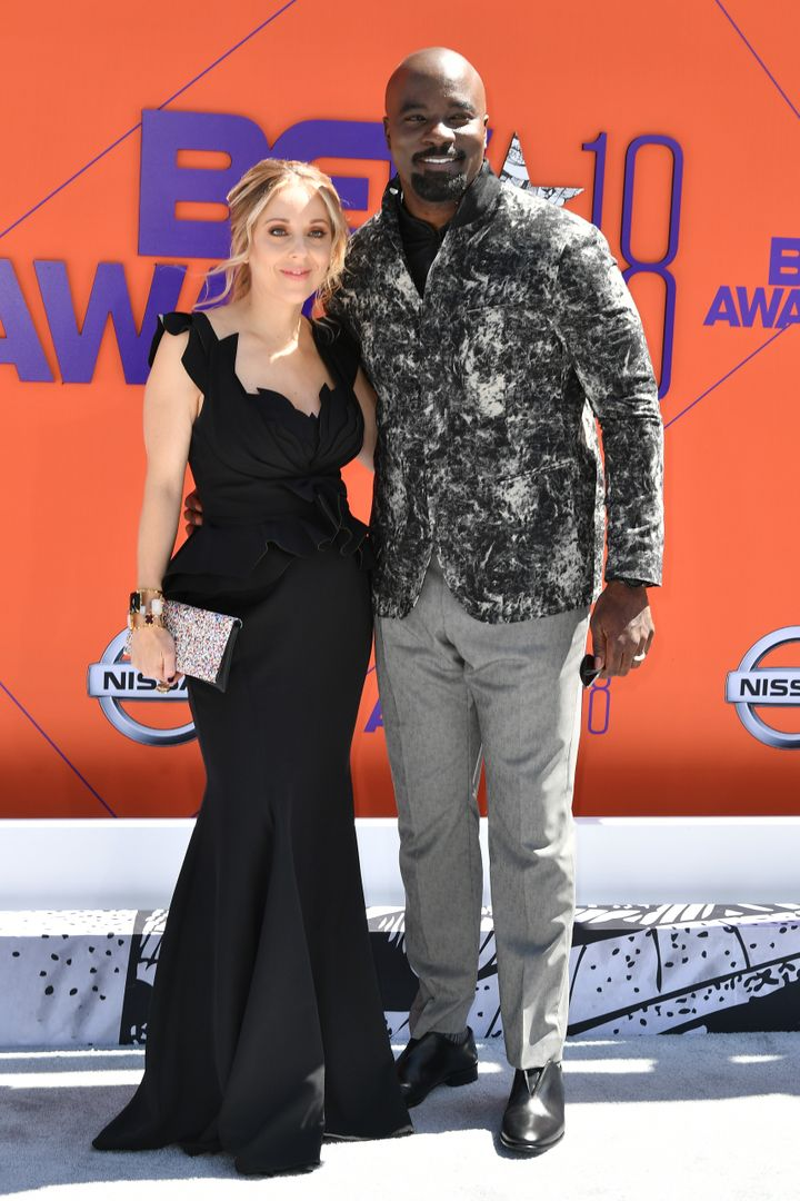 Iva Colter and Mike Colter.