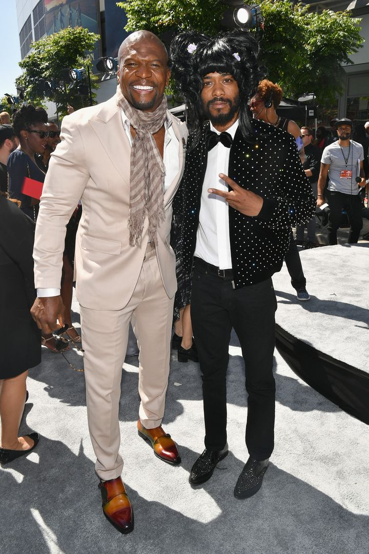 Terry Crews and Lakeith Stanfield.