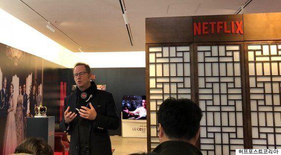 조너선 프리드랜드 넷플릭스 최고 커뮤니케이션 책임자는 지난 1월 한국에도 방문한 바