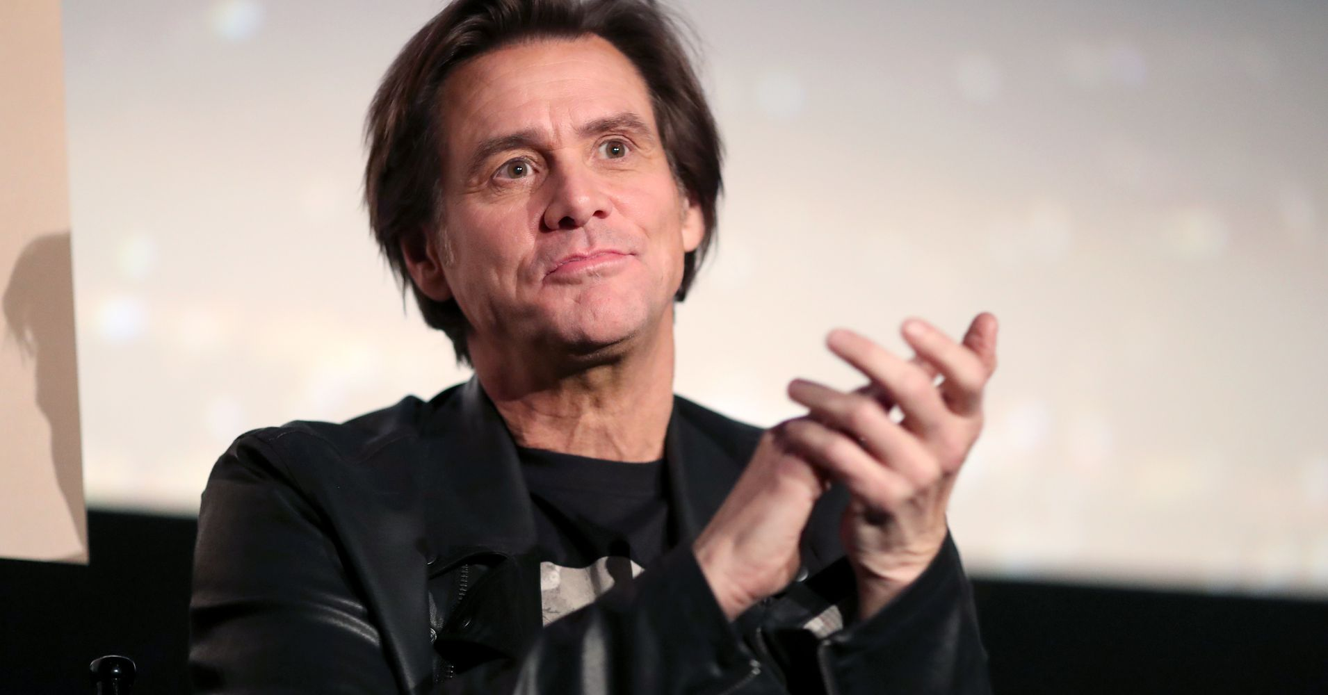 Jim Carrey Painting Depicts Donald Trump Crucifying Jesus