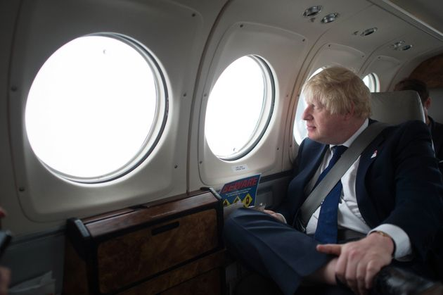 This is what Boris Johnsonmight currently be doing. But no one is quite