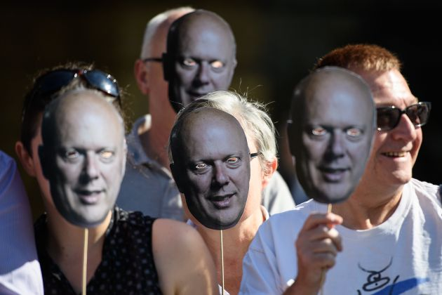 Chris Grayling Branded A 'Chicken' For Dropping Out Of Northern Rail