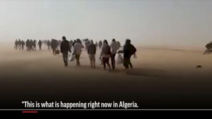 AP publie une enquête sur les 13000 migrants que l'Algérie a